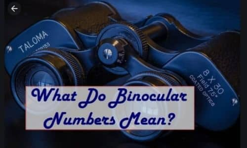what do the numbers on binoculars mean